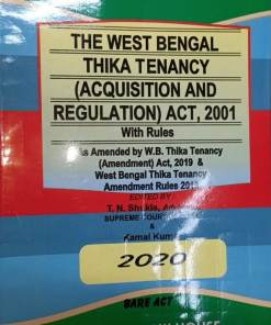 Kamal's The West Bengal Thika Tenancy (Acquisition and Regulation) Act, 2001 Edition 2020 (Bare Act)