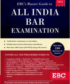 EBC's Master Guide To All India Bar Examination (AIBE) by EBC - 2nd Edition February 2021