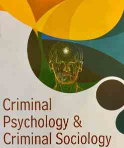 CLP's Criminal Psychology and Criminal Sociology by Manish S. Sonawane - 1st Edition 2020