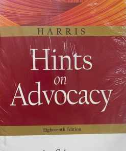 LJP's Hints on Advocacy by Harris - 18th Edition - Indian Economy Reprint 2021