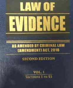 KLH's Law of Evidence (2 Volumes) by S.P. Sengupta - 2nd Edition 2018