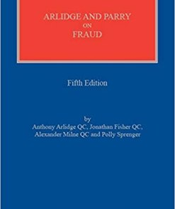 Sweet & Maxwell's Arlidge and Parry on Fraud - 5th South Asian Edition 2019