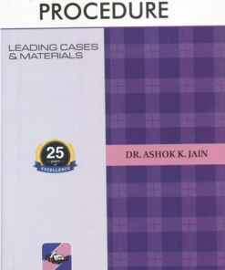 Ascent's Code of Civil Procedure by Dr. Ashok Kumar Jain