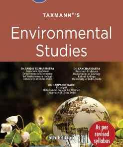 Taxmann's Environmental Studies by Sanjay Kumar Batra for CBCS - 5th Edition April 2021