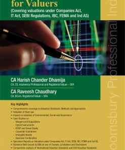 Bloomsbury's Ready Reckoner for Valuers by CA Harish Chander Dhamija - 1st Edition March 2021
