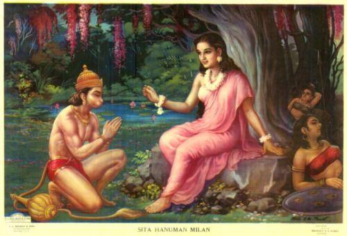 Hanuman Sita Milan