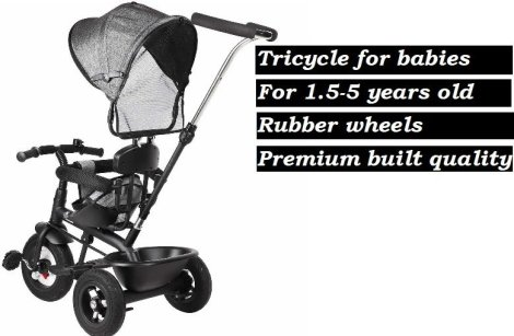 Best tricycle for 2 years kids