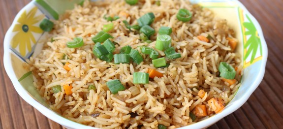 Vegetable fried rice bharatzkitchen vegetable fried rice ccuart Images