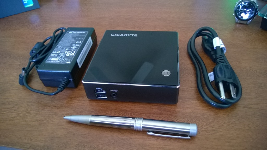 Gigabyte Brix – Ultra Compact PC for IT Pro's Hyper-V lab