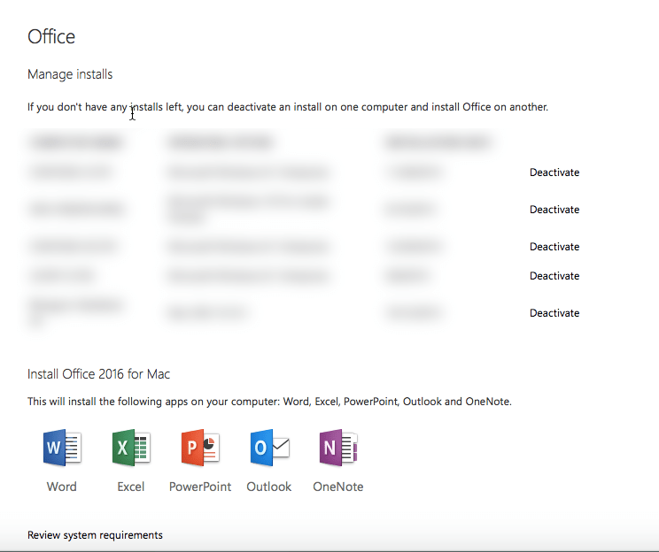 Office 365 subscribers