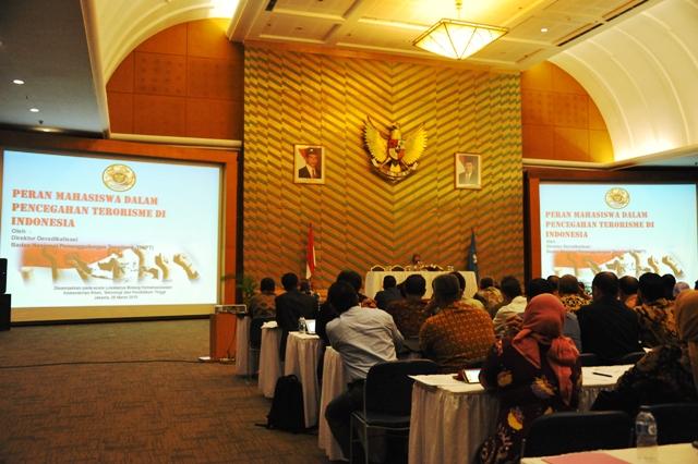 seminar, terorisme, korupsi, narkotika