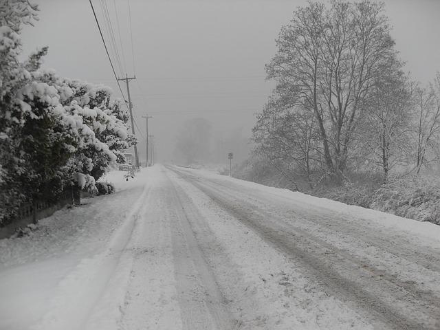 musim dingin, badai salju