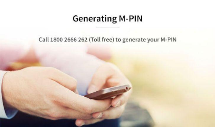 Chillr App HDFC Generate_MPIN