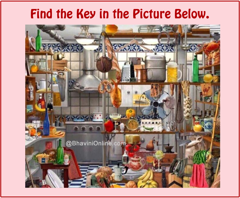find the key