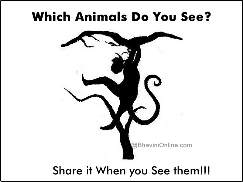 Picture Riddle: Which Animals Do You See in the Image