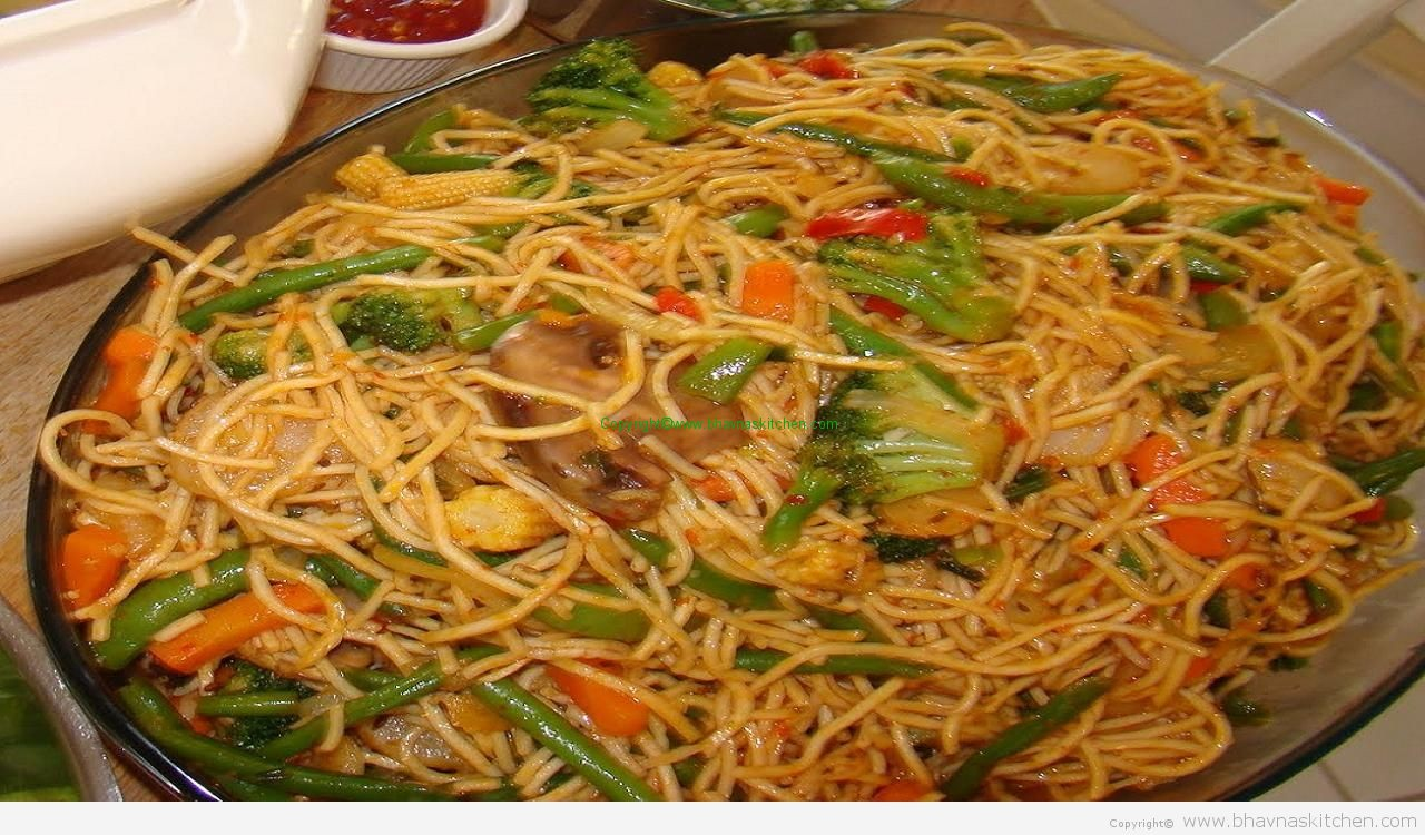 Vegetable Chow Mein / Hakka Noodles – Welcome!