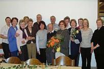 BhB-Team nach der Mitgliederver- sammlung 2007 mit neuem und altem Vorstand und Bereichsleitern.