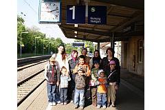 Ausflug nach Ulm 2008: Mütter des Deutschkurses mit ihren Kindern
