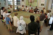 Besuch des Limes-Museums Aalen Interkultureller Dialog; Juli 2008