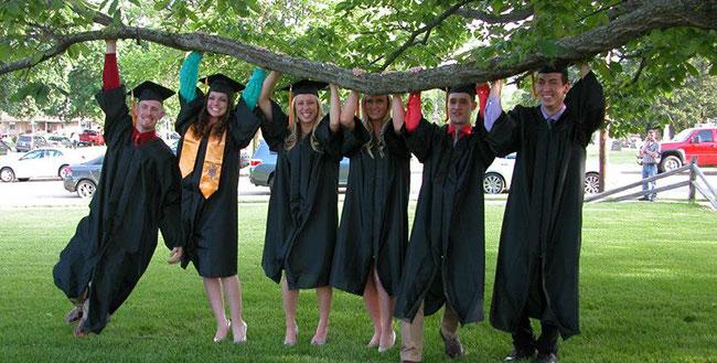 graduation east campus