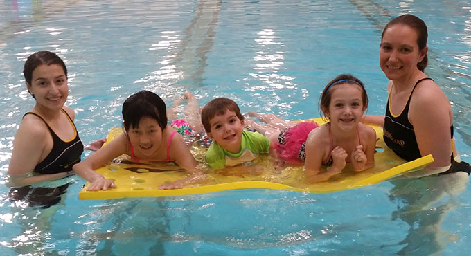 tot swim class
