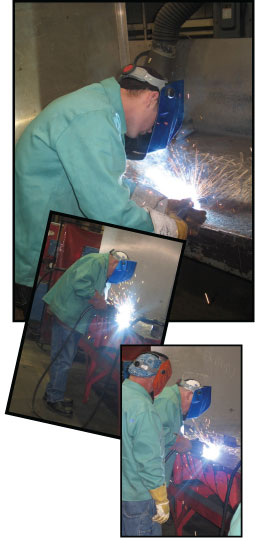 welding collage