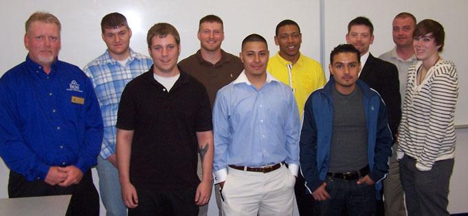 Welding Graduates Day Class May 26, 2011