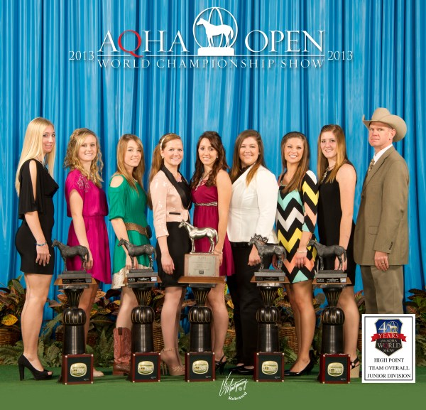 C AQHA World 2013 Team