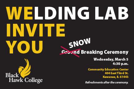 Welding Lab Invite