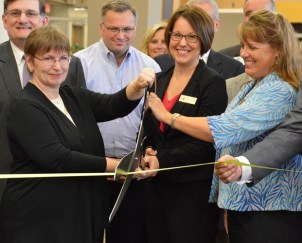 BHC library ribbon cut (web)