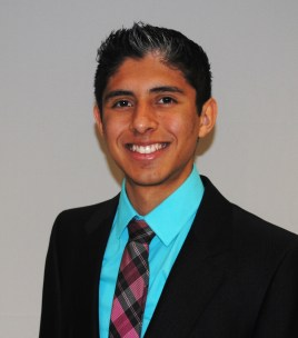 Carlos Martinez student trustee 2016-17