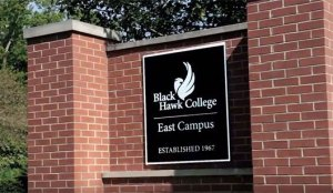 East Campus welcome sign