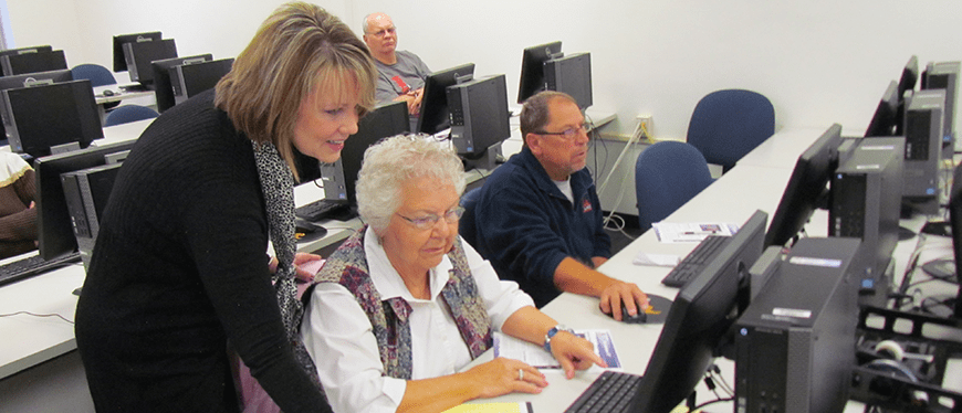 Computer Class In Action