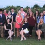 East Foundation scholarship recipients 2017-18