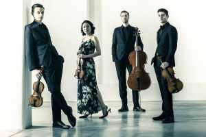 Tesla Quartet - 3 men & 1 woman with string instruments