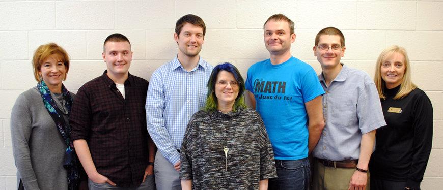 Mathematics Department Faculty Team Photo