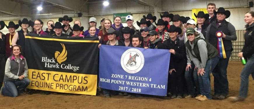 Intercollegiate Horse Shows Association Team 2018