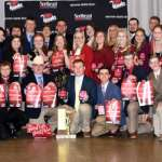 Black Hawk College North American Colleges and Teachers of Agriculture winning team members & coaches 2018