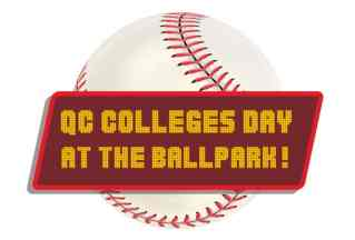 baseball with marquee QC Colleges Day at the Ballpark