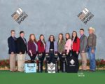 APHA World Championships 2018 - 9 students & coach Aaron Callahan with awards