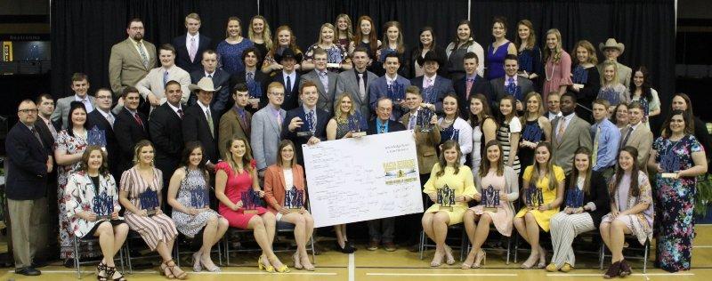 NACTA Sweepstakes Award-winning team members & coaches 2019