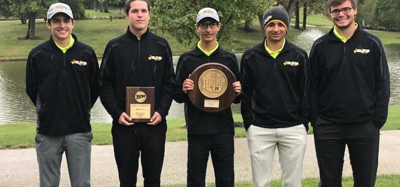 Region IV Championship Golf Team Fall 2018