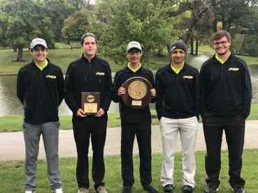 Region IV Championship Golf Team Fall 2018