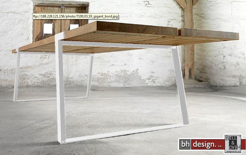Gigant Esstisch by Canett Design Massiv Eiche in