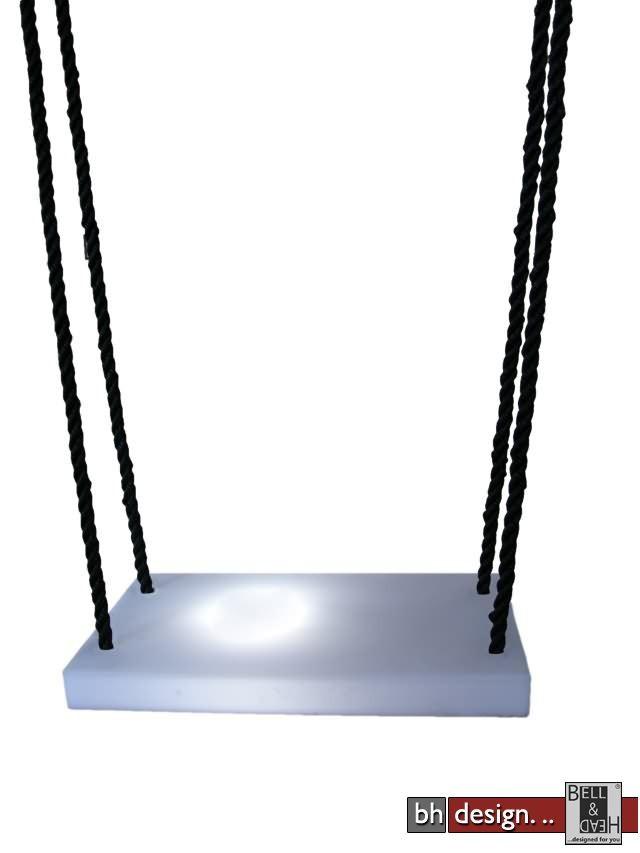 swinglampdesignerschaukel powered by Bell  Head  Preiswerte Versandkosten innerhalb DE