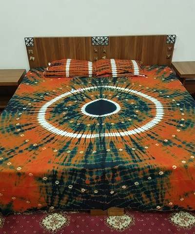 Bandhni Double Bed Sheet