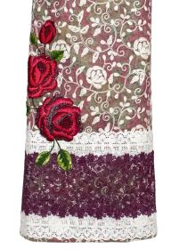 Double Color Marble Printed Jute Rida