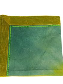 Hand Dyed Green Cotton Safra