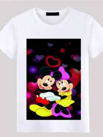 Evergreen Collection Mini & Mickey Mouse Printed Kids T-shirt