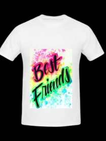 Evergreen Collection Friends Edition T-shirt For Girls & Boys-3